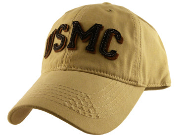 Marines - Embroidered Cap - USMC (Applique)