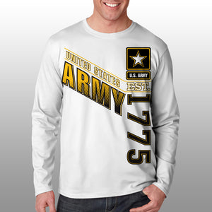 Army - Long Sleeve Cool-N-Dry Shirt - United States Army - Size L