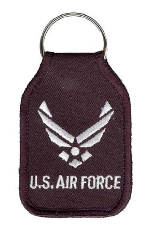 Air Force - Embroidered Keychain - U.S. Air Force w/HAP