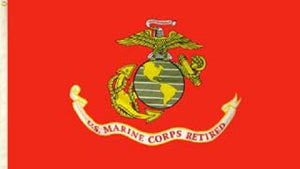 Flag - U.S. Marine Corps Retired