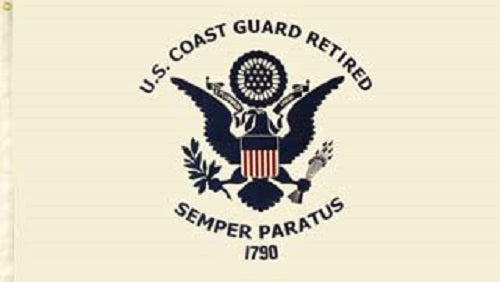 Flag - U.S. Coast Guard Retired