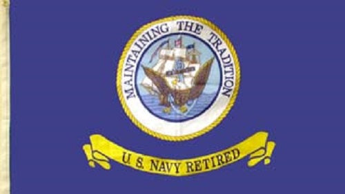 Flag - United States Navy Retired