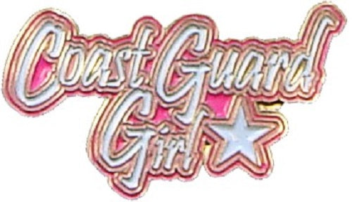 Coast Guard Lapel Pin - Coast Guard Girl