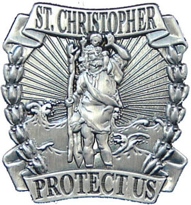 Lapel Pin - St. Christopher