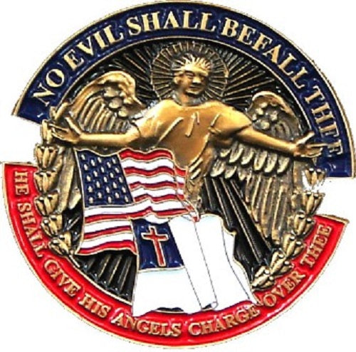 Lapel Pin - No Evil Shall Befall Thee