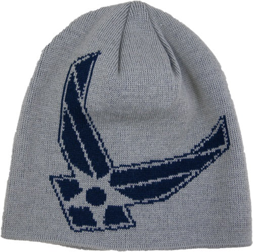 Air Force - Woven Watch Cap - Air Force Logo (Gray)