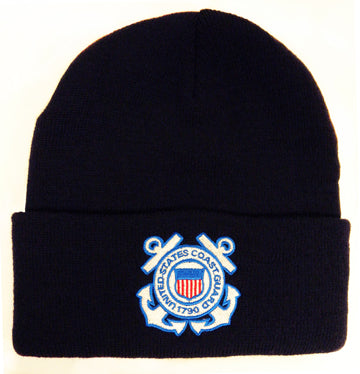 Coast Guard - Embroidered Watch Cap - US Coast Guard Logo