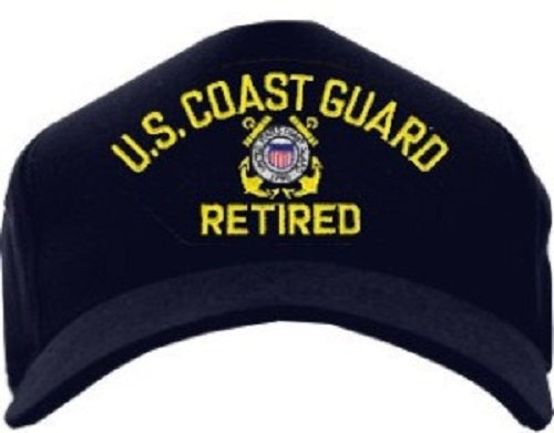 Coast Guard - Embroidered Cap - U.S. Coast Guard Retired