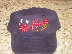 Air Force - Embroidered Cap - Air Force w/Planes