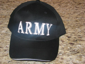 Army - Embroidered Cap -ARMY (Reflective Lettering)