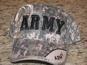 Army - Embroidered Cap - ARMY Digi-Camo