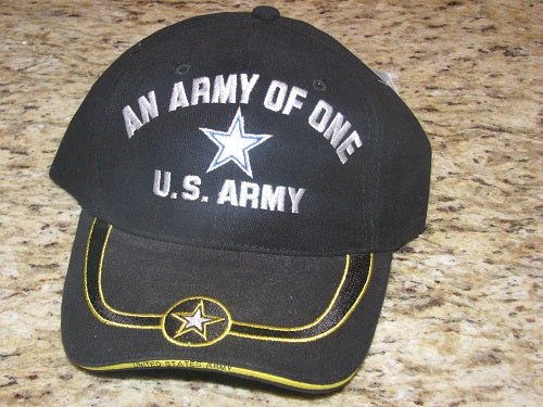Army - Embroidered Cap - An Army of One (As Is Item)
