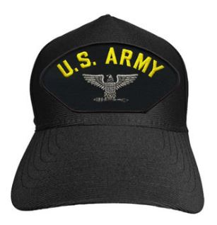 Army - Embroidered Cap - U.S. Army Colonel Eagle