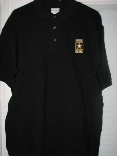 Army - Polo Shirt - U.S. Army Retired Emblem (no pocket) - Size L
