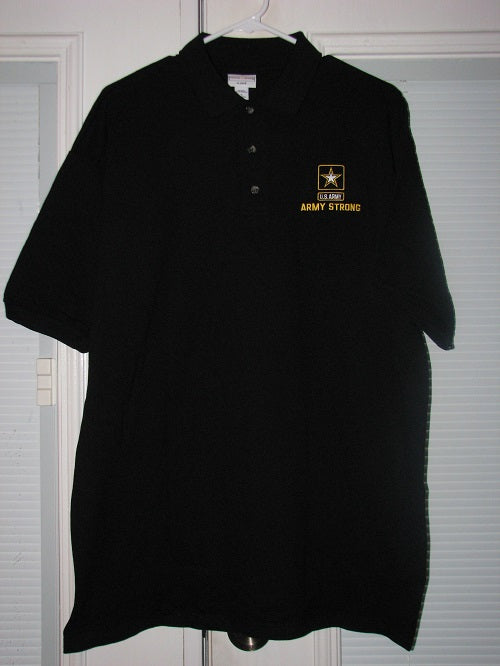 Army - Polo Shirt - Army Strong - Size L