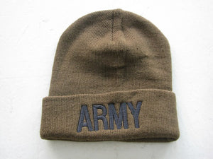 Army - Embroidered Watch Cap - ARMY