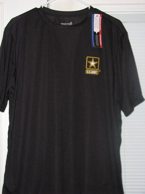 Army - Dri Fit Shirt - U.S. Army w/Star - Size L