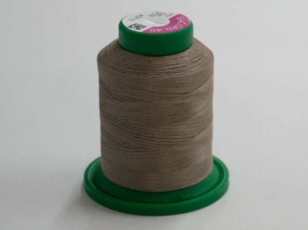 1000m ISACORD EMBROIDERY THREAD BROWN IC 0722