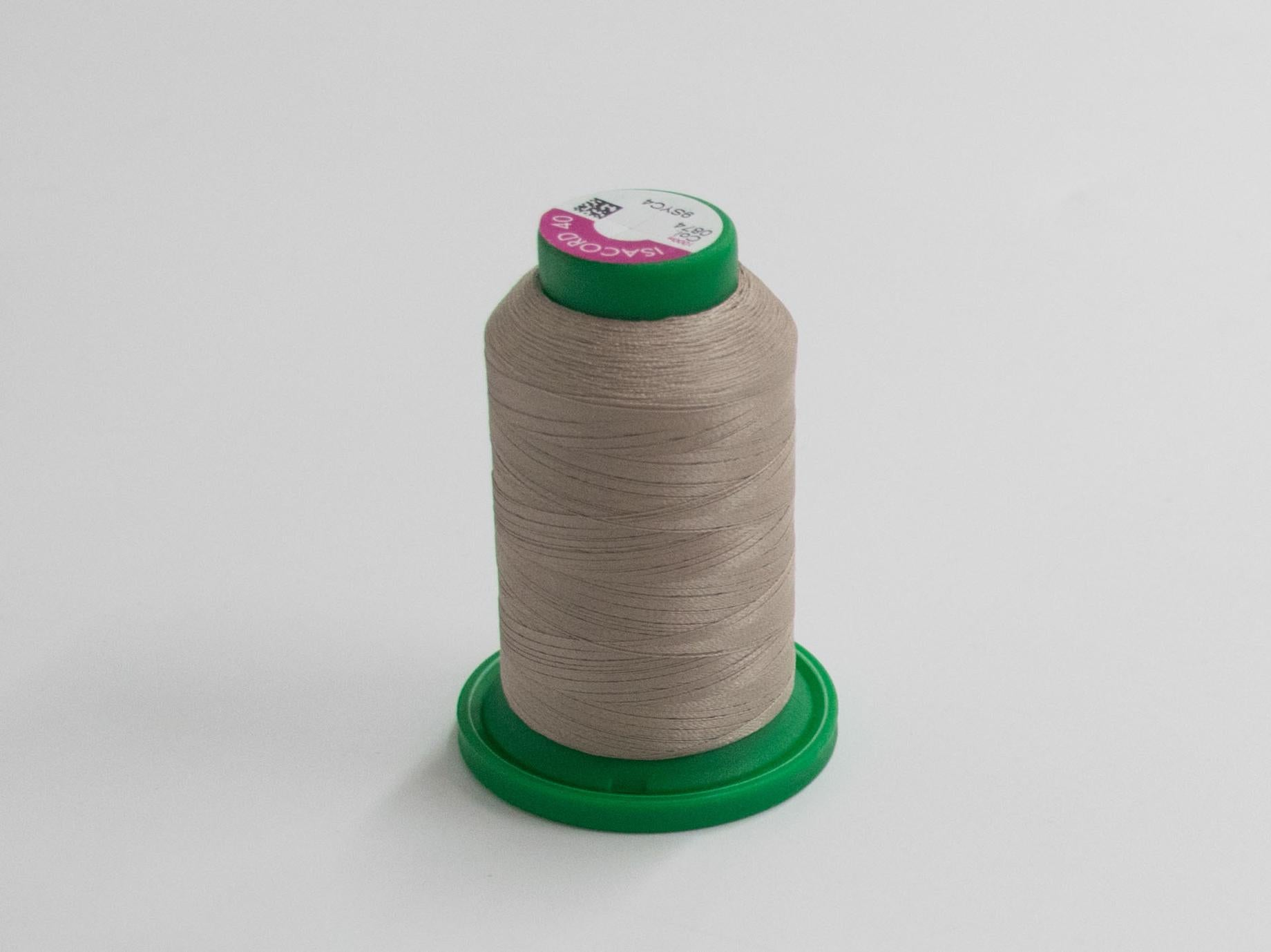 1000m ISACORD EMBROIDERY  THREAD NATURAL