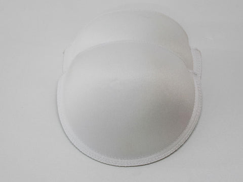 MEDIUM PADDING CUPS WHITE