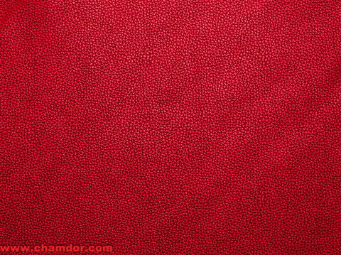 137cm REAL TOUCH LEATHER (SAME AS BONDED LEATHER) RED