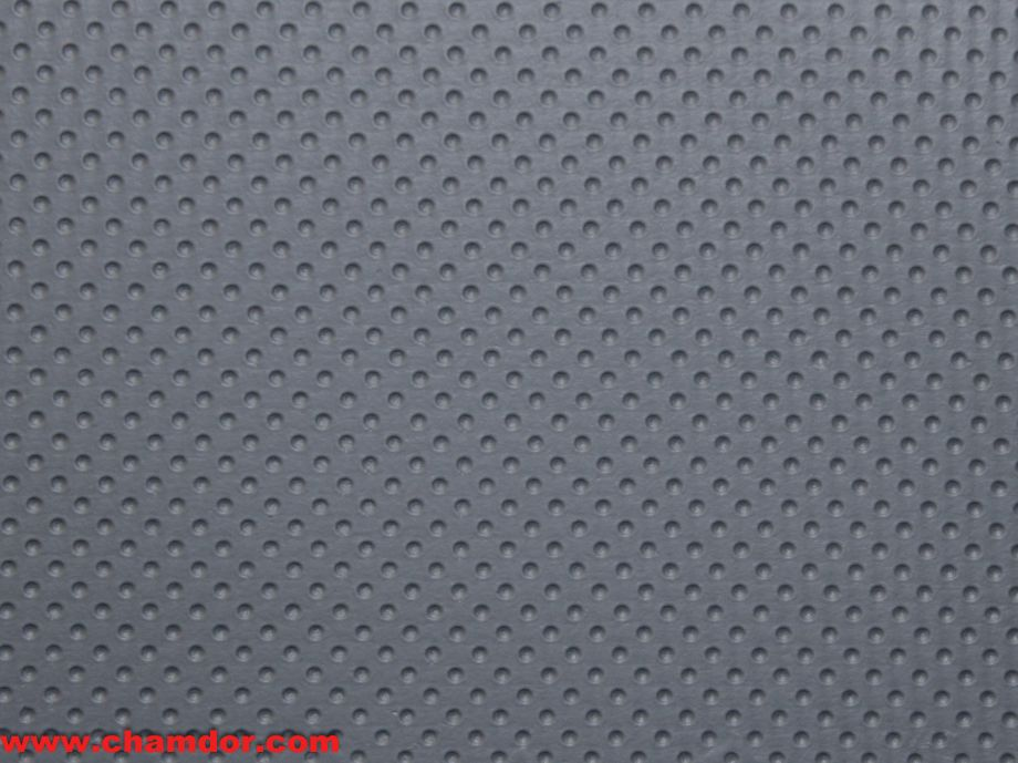 137cm DOTTED LEATHER DOVE GREY