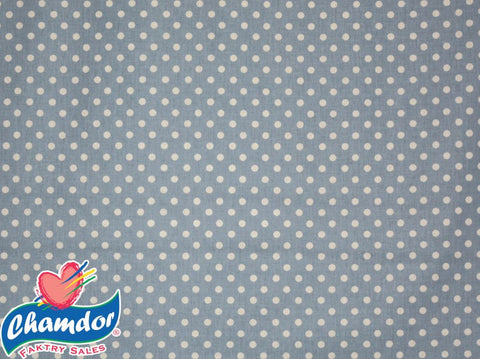 240cm DOTS COTTON CURTAINING