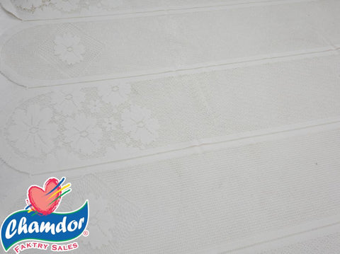 120CM DUTCH LACE WHITE