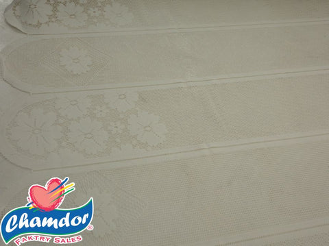 90CM DUTCH LACE CREAM