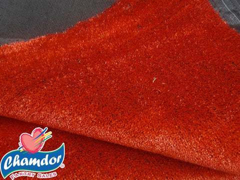 200cm ARTIFICIAL GRASS RED
