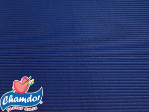 65cm PLAIN ANTI SLIP MATT NAVY BLUE