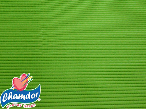 65cm PLAIN ANTI SLIP MATT LIME GREEN