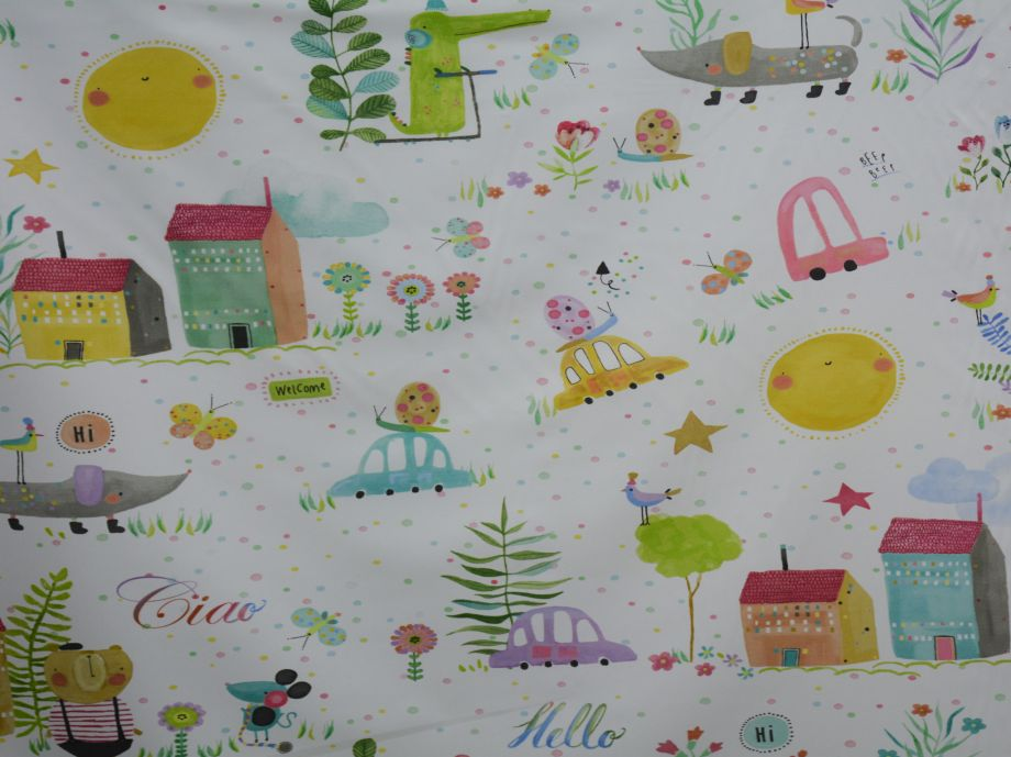 140cm SATEEN CURTAINING
