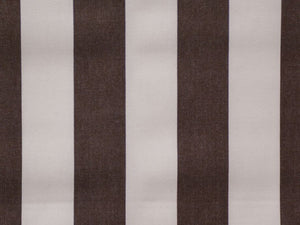 160CM  STRIPE CERDALON CHOCOLATE