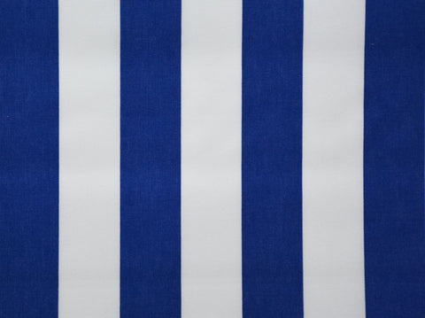 160CM  STRIPE CERDALON ROYAL BLUE