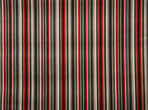 160CM STRIPE/CHECK CERDALON RED