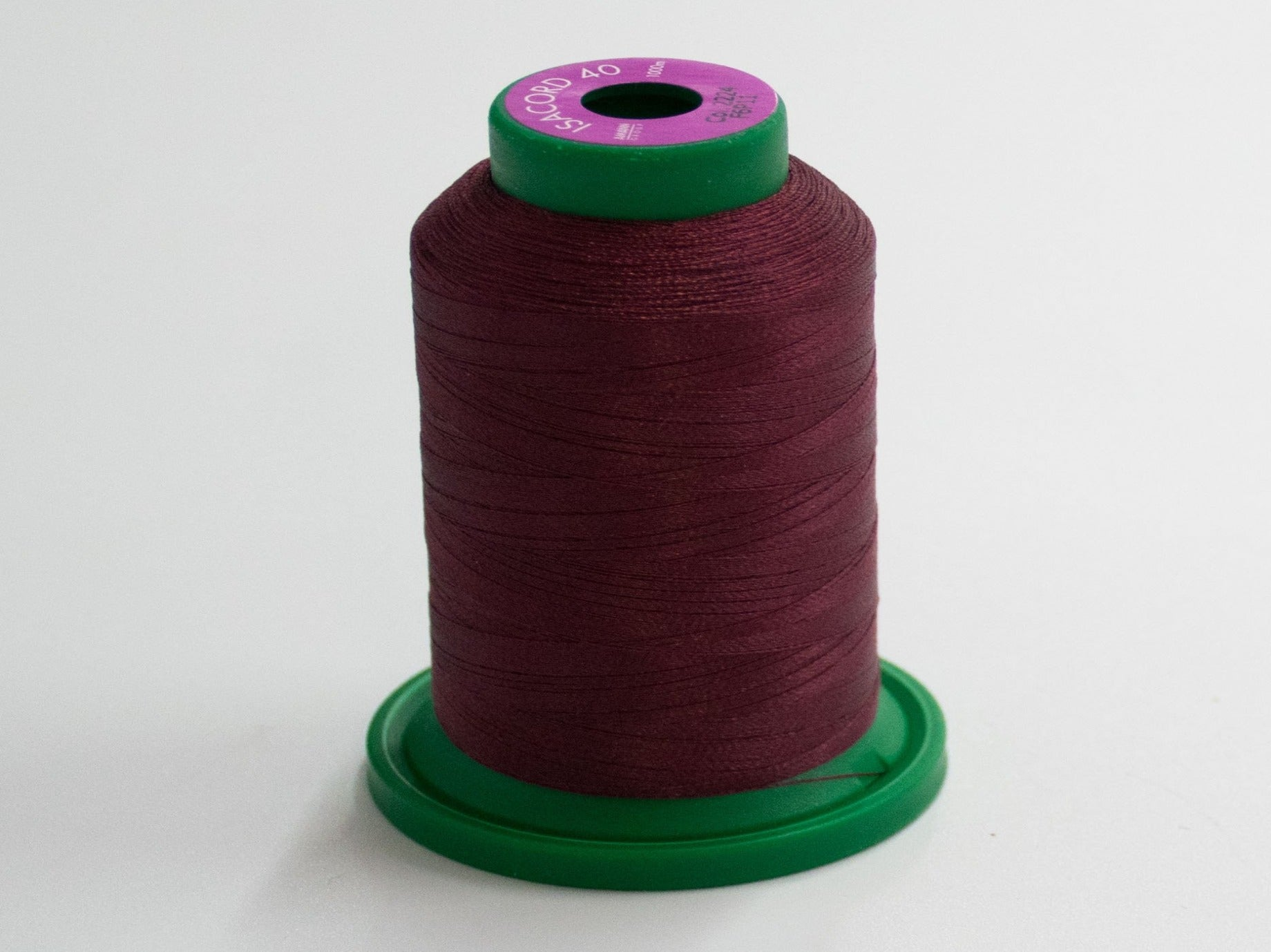 1000m ISACORD EMBROIDERY THREAD MAROON