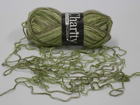 100g CHARITY PRINT P/S SEDGE GREEN