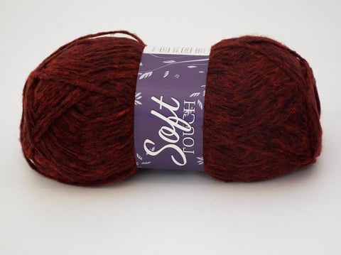 100g SOFT TOUCH WOOL SANGRIA