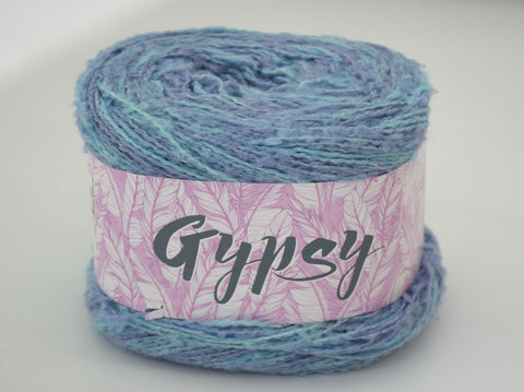 200g GYPSY WOOL  RIDEAU BLUE