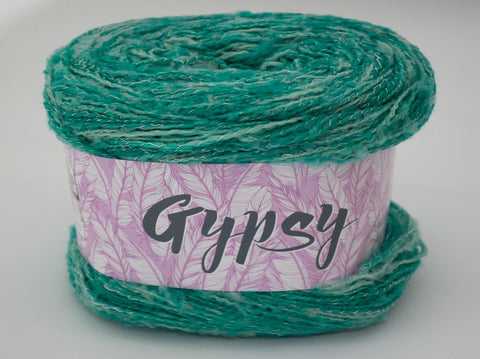 200g GYPSY WOOL GASPE GREEN