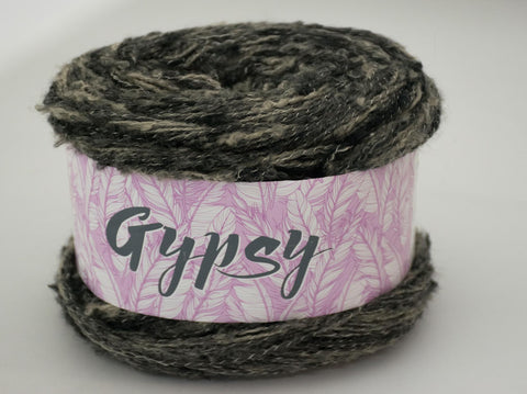 200g GYPSY WOOL COAL BLACK