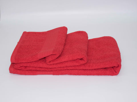 50x90cm HAND TOWEL RED