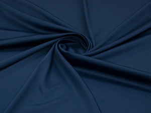 150cm RUSSIAN STRETCH SATIN NAVY BLUE