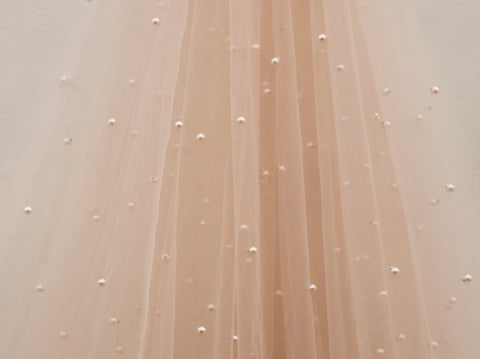 150cm PEARL TULLE