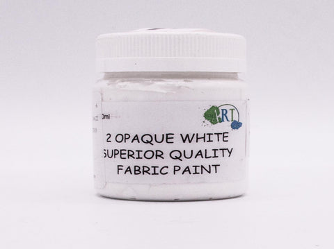 100ml FABRIC PAINT WHITE