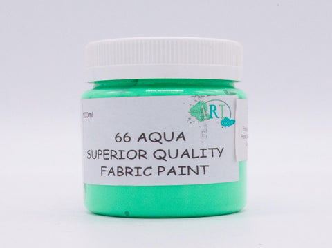 100ml FABRIC PAINT  AQUA