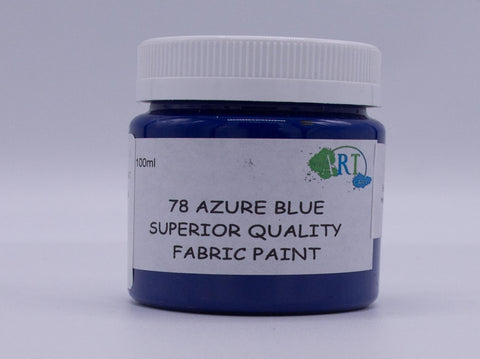100ml FABRIC PAINT BLUE