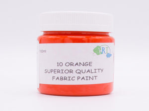 100ml FABRIC PAINT ORANGE