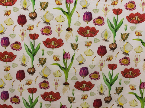 150cm TULIPS CURTAINING